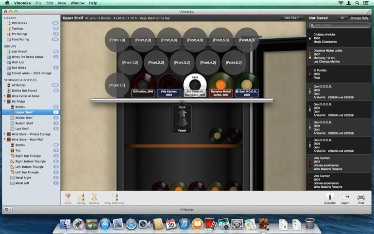 With brand new shelves configurations, make sure your virtual fridge is exactly like your physical one